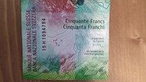 Swiss Franc Banknotes 50  NEUE Schweizer Banknote 50