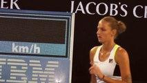 Melbourne, Australia   Australian Tennis Open #2    Pliskova CZE Vs Makarova RUS   23 Jan 2016