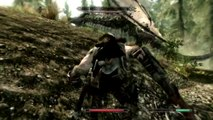 Elder Scrolls  Skyrim   Werewolf vs Dragon