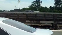 59N San Jacinto River bridge flooding