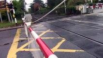 Merrion Gates Level Crossing Dublin 27.10.15