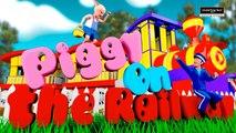 Piggy On The Railway  - 3D Nursery Rhyme For Children with Lyrics   Classteacher Learning Systems