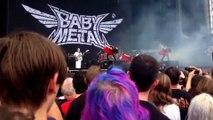 BABYMETAL LIVE @Sonisphere 2014,UK (Fancam combi,Sound edit or chaged)[FULL]