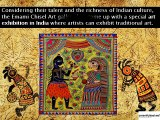 Emami Chisel Art Gallery Kolkata organizes An Exhibition of Traditional Art