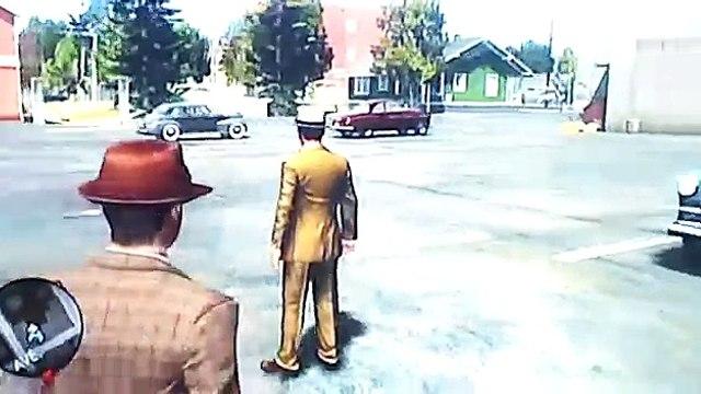 (Meu primeiro video) Patrulhando 1# L.A.NOIRE*