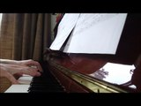 amelie 'le moulin' on piano