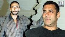 Salman Khan Loses, Ranveer Singh Wins