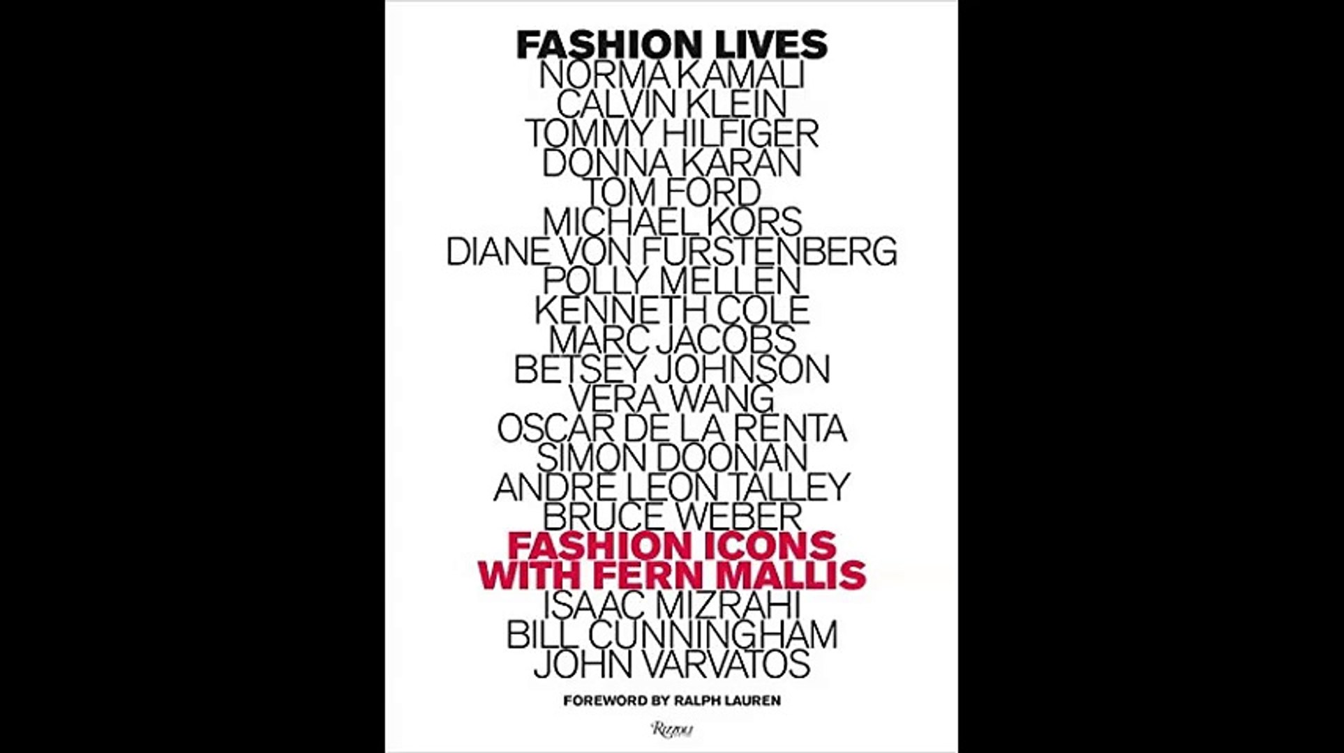 Fashion Lives Fashion Icons with Fern Mallis