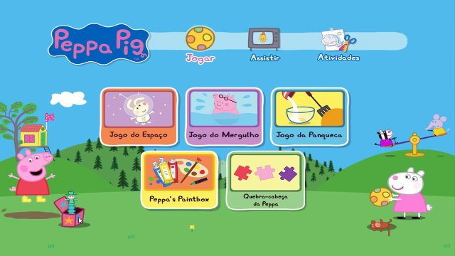 Pig George da Familia Peppa Pig - Joguinho da Panqueca (ToysKids Peppa Pig)