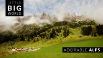Adorable Alps  (4k - Time Lapse - Tilt Shift - Aerial)
