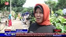 Ratusan Pedagang Tanaman di Senayan Ditertibkan