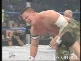 Batista & Bobby Lashley & John Cena Vs Booker Thing & Finlay