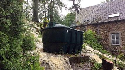 Inondation au moulin de Solières