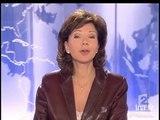 Arielle Dombasle - JT 20 Heures : Arielle Dombasle au Bataclan (29 Janvier 2005)