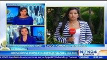 Oposición venezolana se reunirá con rectores del CNE para exigir puntos de validación de firmas