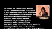 Kabylie :Message aux ... de Lounès Matoub....