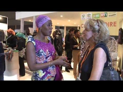Madame Affoussiata Bamba Lamine à Discop Africa 2014 - 5 novembre 2014