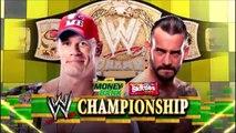 John Cena vs CM Punk (WWE Championship - Money in the Bank 2011 ITA)
