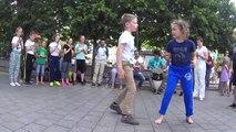 Capoeira Kids Latvia - Solo (Roda De Rua Vilnius)