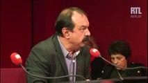 """""""Je trouve scandaleux ce qu'a dit Pierre Gattaz"""", estime Philippe Martinez, délégué syndical de la CGT"""