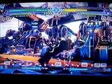 Blazblue Continuum Shift Arcade stick in action