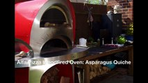 Alfa Pizza Woodfired Oven: Asparagus Quiche