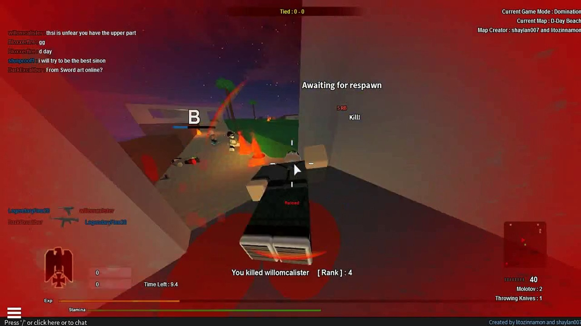 Red Ops Fps Team Deathmatch Roblox - Lets Play Call Of Robloxia 5 Roblox At War Domination D Day Beach Episode 17 W Lance