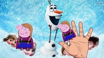 Peppa Pig Frozen Finger Family Nursery Rhymes Lyrics and More Daddy Finger Song video snippet