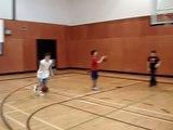 PINOY BALLER DUNKS OVER 2 KIDS!