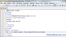 html and css Tutorial 25 height, width, min height, max height in css