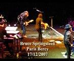 Bruce Springsteen Paris Bercy 17/12/2007 Livin in the Future
