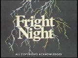 WOR-TV Fright Night Bumpers and Local PSA - 1982