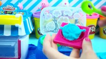 play doh peppa pig cupcake, how to make play doh cupcakes playdough toy