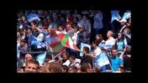 PRO D2, Demi-finale - Communion entre supporters et joueurs de l'Aviron Bayonnais