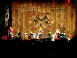 "BRIAN SETZER& Slim Jim Phantom ""Tennessee Zip"" 25 junio 2011 Azkena Rock Rockabilly Riot"