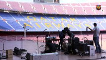 La Platea Camp Nou, un espai singular per a esdeveniments, estrena temporada! FCB Meetings & Events