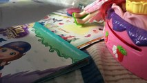 Drawing Elsa and Anna toddlers Sofia toddler Kristoff toddler having fun drawing!