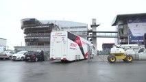 24 Heures du Mans - Les camions des équipes arrivent !