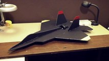 F-22 Raptor Scratch Built RC Jet