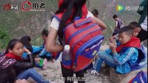 "Heart-breaking Cliff Ladder: the most dangerous school journey in ""Cliff Village"" in China"