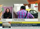 Chile: obreros piden al Estado reforme artículo 19 de la carta magna