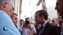 Emmanuel Macron suscite la polémique avec ses propos