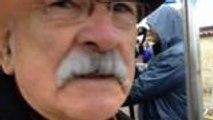 Hollande à Jarnac: Réactions des gens sur place
