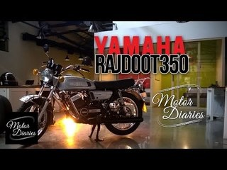 1983 Rajdoot RD350 - Passion Kept Alive | Motor Diaries