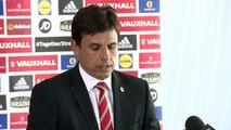 Wales Manager Chris Coleman announces the 23 man squad