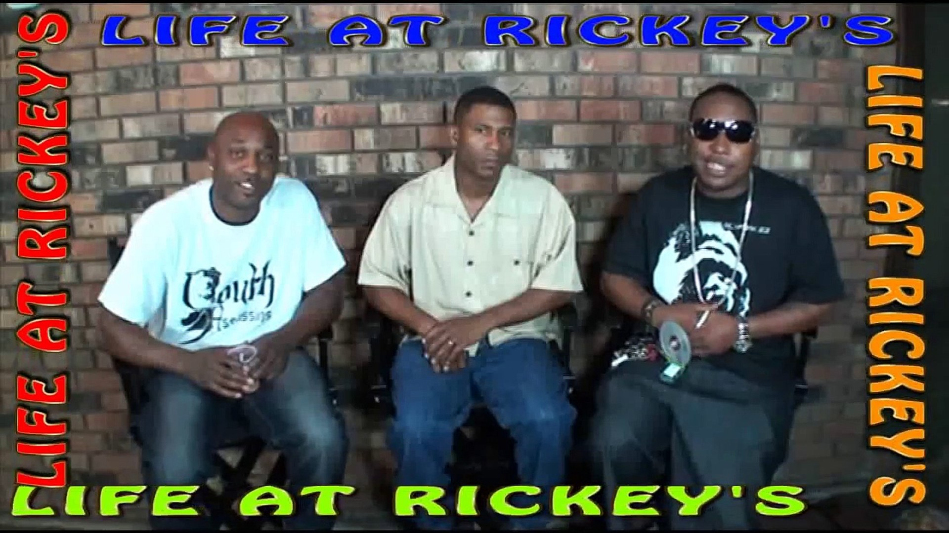 THE BOTTOM LINE 5 OF 15 Quirt'em up LIFE AT RICKEY'S