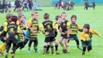 Les petits rugbymen au Hameau