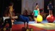 spectacle de cirque de l'école des mérigots