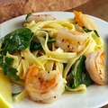Time Crunchers: Shrimp Scampi and Spinach Fettuccine
