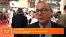 SMCL 2016 : Interview de Damien Meslot, Président de la Communauté d'Agglomération Belfortaine (90)